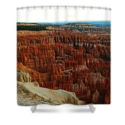 Bryce Canyon In The Afternoon Shower Curtain