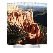 Bryce Canyon Landscape Shower Curtain