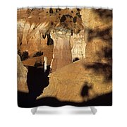 Bryce Canyon National Park Hoodo Monolith Sunrise From Sunrise P Shower Curtain