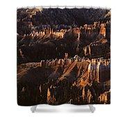 Bryce Canyon National Park Hoodo Monoliths Sunrise Southern Utah Shower Curtain