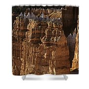 Bryce Canyon National Park Hoodo Monoliths Sunset From Sunrise P Shower Curtain