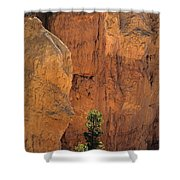 Bryce Canyon National Park Hoodo Monoliths Sunset From Sunset Po Shower Curtain