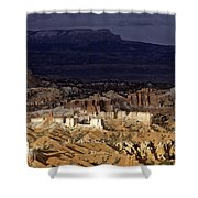 Bryce Canyon National Park Hoodo Monoliths Sunset Southern Utah  Shower Curtain