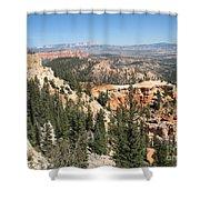Bryce Canyon Overlook Shower Curtain