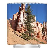 Bryce Canyon Red Fins Shower Curtain