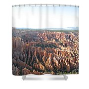 Bryce Canyon Scenic Overlook Shower Curtain
