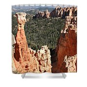 Bryce Canyon - Thors Hammer Shower Curtain