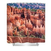 Bryce Canyon Utah Views 508 Shower Curtain