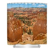 Bryce Canyon Valley Walls Shower Curtain