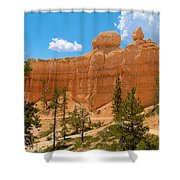 Bryce Canyon Walls Shower Curtain