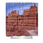 Bryce Moon Rising Shower Curtain