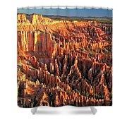 Bryce Morning Lights Shower Curtain