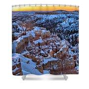 Bryce Sunburst Shower Curtain