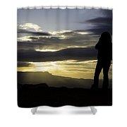 Bryce Sunrise Shower Curtain