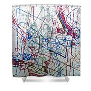 bSeter Elyion 15 Shower Curtain