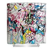 bSeter Elyion 17 Shower Curtain
