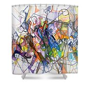 bSeter Elyion 19 Shower Curtain