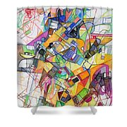 bSeter Elyion 20 Shower Curtain