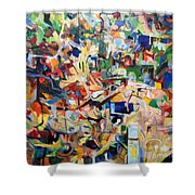 bSeter Elyion 3 Shower Curtain