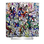 bSeter Elyion 31 Shower Curtain