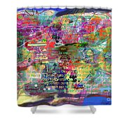 bSeter Elyion 9a Shower Curtain