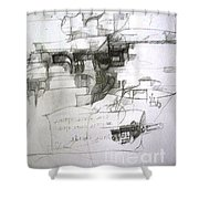 bSeter Elyion Shower Curtain