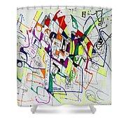 Bseter Elyon 86 Shower Curtain