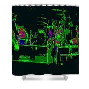Bto And Colors Fly In Spokane 1976 Shower Curtain