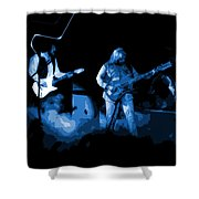 Bto In Spokane 1976 Blue Art Shower Curtain