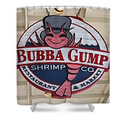 Bubba Gump Shrimp Co. Shower Curtain