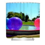 Bubble Ball 1  Shower Curtain