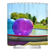Bubble Ball 2 Shower Curtain