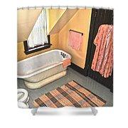 Bubble Bath  Shower Curtain
