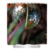 Bubble Cocoon         Shower Curtain by Kaye Menner