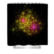 Bubble Core  Shower Curtain