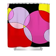 Bubble One Shower Curtain