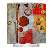 Bubble Tree - Ls55 Shower Curtain by Variance Collections