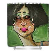 Bubblegum Shower Curtain