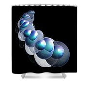 Bubbles On The Rhosddu Road Shower Curtain