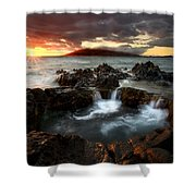 Bubbling Cauldron Shower Curtain