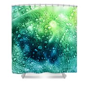 Bubbling Up Shower Curtain