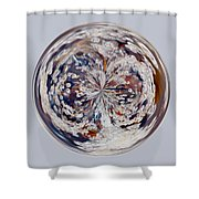 Bubbly Orb Shower Curtain