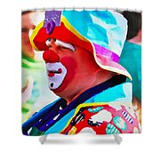 Bubby The Clown Shower Curtain