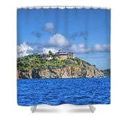 Buck Island Shower Curtain
