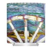 Buckboard Shower Curtain