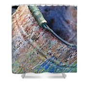 Bucket Of Colors Shower Curtain