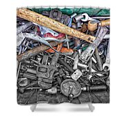 Bucket Of Tools Sc Shower Curtain