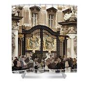 Buckingham Palace Gates Shower Curtain