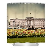 Buckingham Palace In London Uk Shower Curtain
