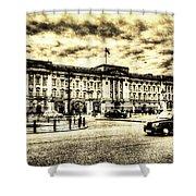 Buckingham Palace Vintage Shower Curtain